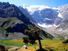 fann mountains in pamirs