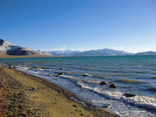 karakul lake in pamirs