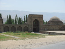 sangin stone mosque in hissar
