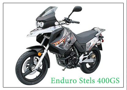 Stels 400GS Enduro motorbike for rent in Tajikistan and Kyrgyzstan